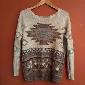 American eagle Native American sweater size M